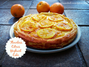 Flourless Citrus Yoghurt Cake / www quichentell.com