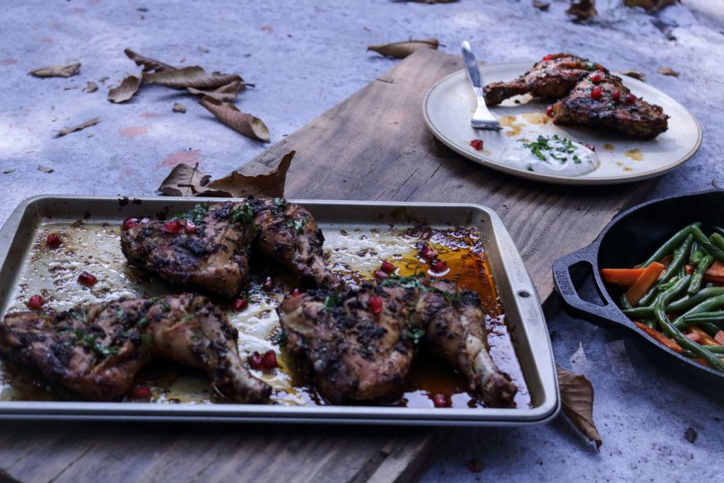 Garlic And Herb Grilled Chicken / www.quichentell.com
