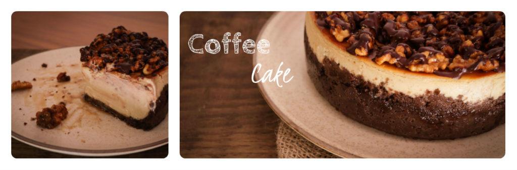 Cappucino Cheesecake With Salted Walnut Praline / www.quichentell.com