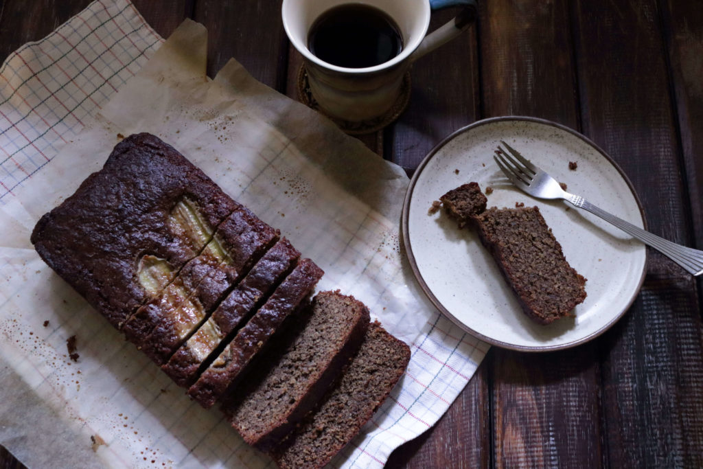 Gluten-Free Coffee Banana Bread / www.quichentell.com