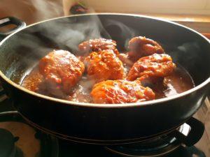 7-Ingredient Sticky Chicken Thighs