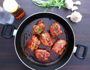 7-Ingredient Sticky Chicken / www.quichentell. com