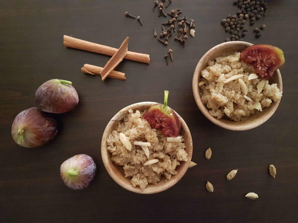 Honey- Roasted Chai-Spiced Breakfast Quinoa / www.quichentell.com