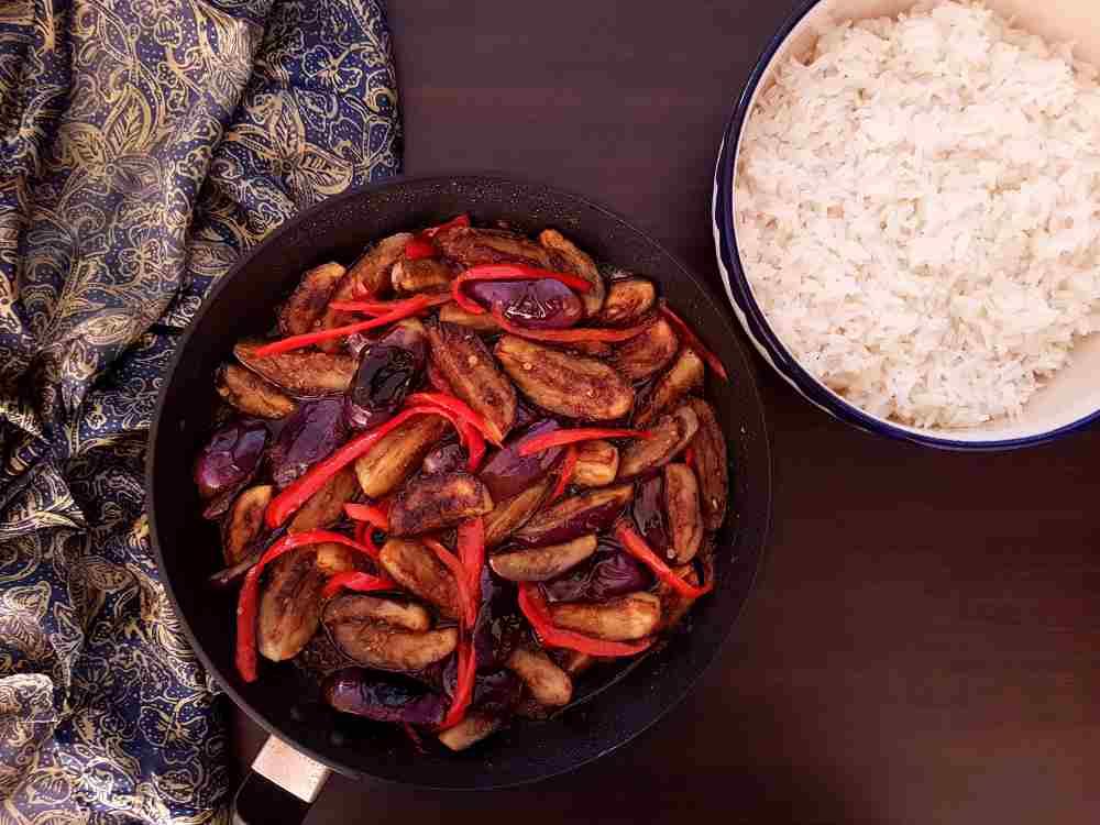Chinese Chilli Eggplant / www.quichentell.com