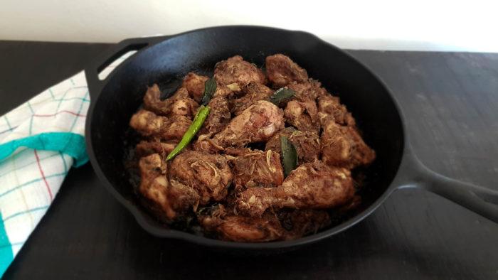 Chicken Ularthiyathu / www.quichentell.com