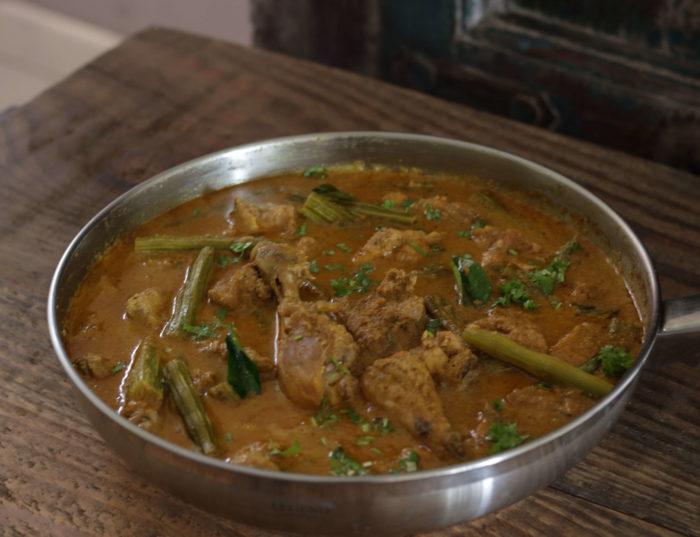 Chicken Drumstick Curry / www.quichentell.com