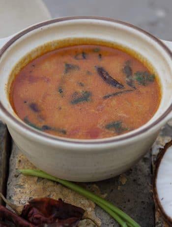 Coconut Milk Rasam / www.quichentell.com