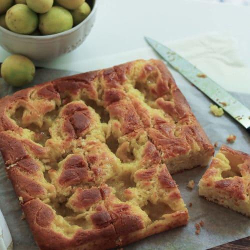 Vegan Lemon Curd Cake / www.quichentell.com